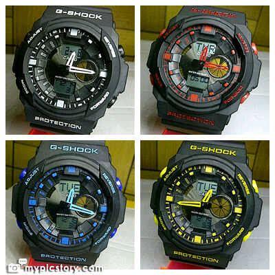 New G Shock Ga 400 Tali Kuning Gshock Ga400 Jam Tangan Pria Sport tiga utama shop focus sunglasses watches