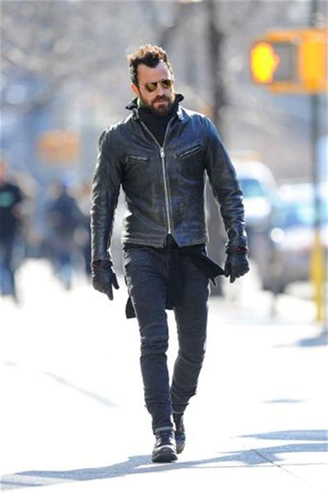 Edition Jaket Bikers Style 10 easy ways to channel justin theroux s badass biker style ban aviator the and
