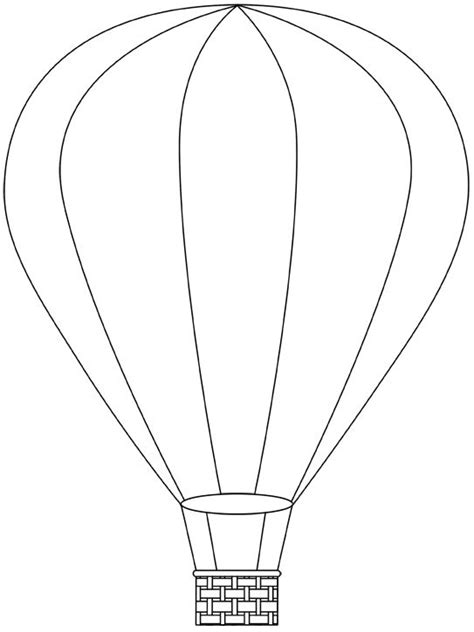 air balloon pattern hot air balloon printable template free digital hot air