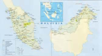 Large detailed road map of malaysia malaysia large detailed road map