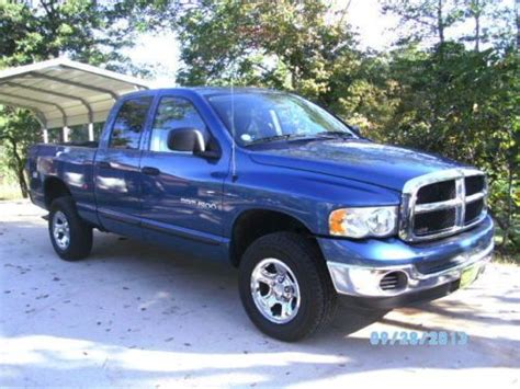 2005 dodge ram 1500 4 door find used 2005 dodge ram 1500 st crew cab 4 door 4