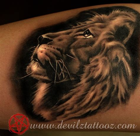 image gallery lion tattoos leo