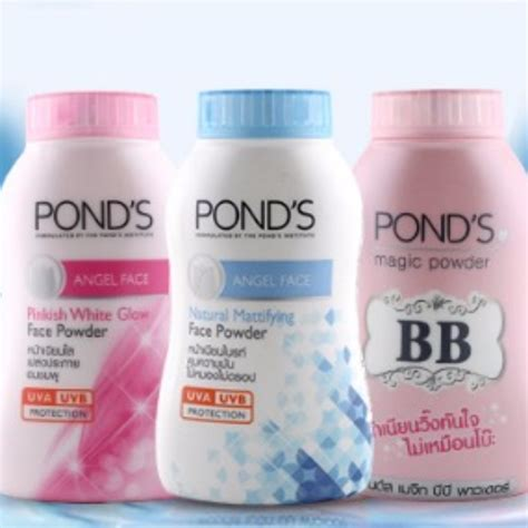 Pond S Magic Powder Pinkish pond s powder gt mattifying gt pinkish white glow