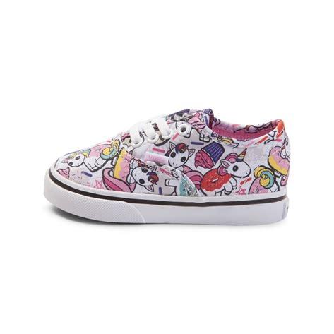 unicorn shoes toddler vans authentic donut unicorn skate shoe multi