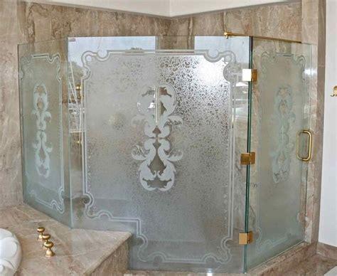 Etched Glass Shower Door Designs Best 25 Custom Shower Doors Ideas On Pinterest Custom Shower Showers And Bathrooms