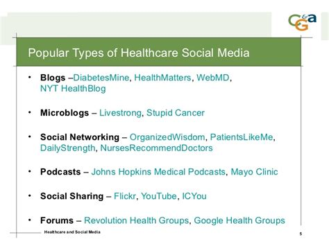 healthcare and social media healthcare social media 2009 trends strategy