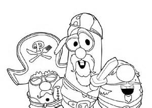 how to draw veggie tales coloring pages