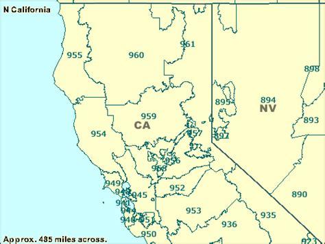 zip code california map trucksess zcta maps 900 999