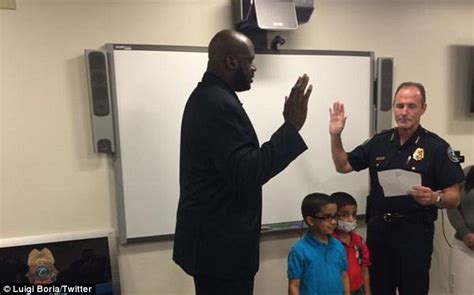 Shaq Officer by Shaquille O Neal Becomes Reserve Officer In Florida
