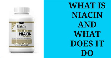 Detox With Niacel by Vitamin B3 Niacin And Weight Loss