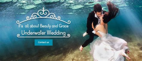 Wedding Underwater by Underwater Weddings In Mauritius Mauritius Attractions