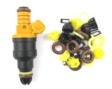 bmw fuel injector service bmw injector service kits with fin style caps 008