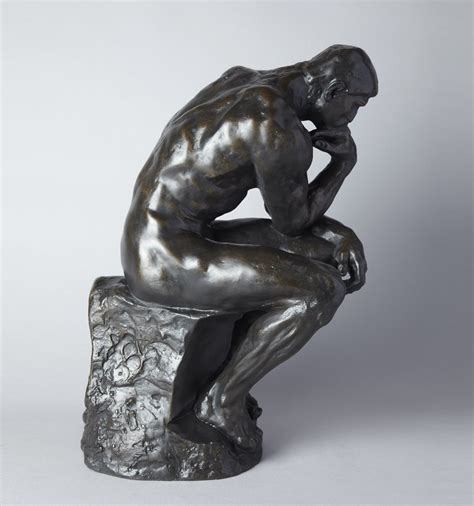 Sculpture L by The Thinker By Auguste Rodin Official Sculpture