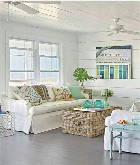 beach living beautiful beach homes ideas and exles for your living room