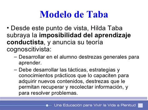 Caracteristicas Modelo Curricular De Ralph Modelos De Planificacion Curricular