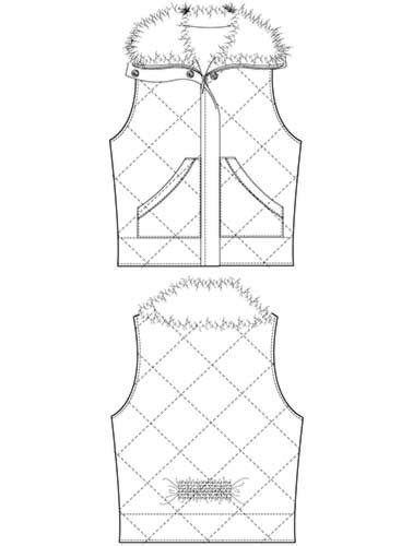 129 Best Images About Technical Fashion Sketch On Pinterest Technical Flat Template