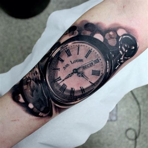 tattoo hand watch 85 best images about pocket watch tattoo on pinterest