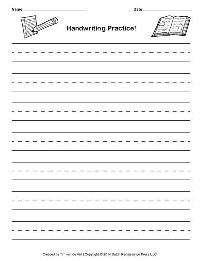 Make Your Own Tracing Paper - collections of free make your own handwriting worksheets