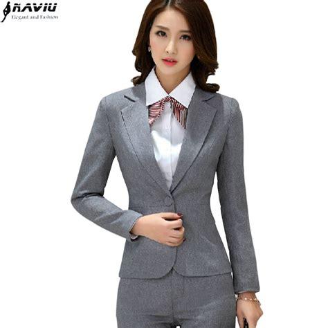 Dama Top Pakaian Wanita Blouse Wanita Atasan Wani Limited aliexpress buy professional work wear s suit office blazer sets