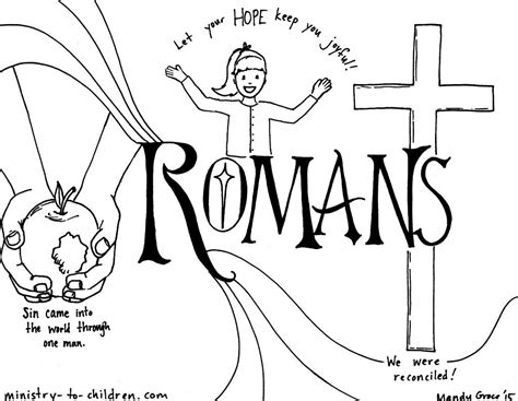 coloring book pages from the bible romans bible book coloring page coloring page bible book