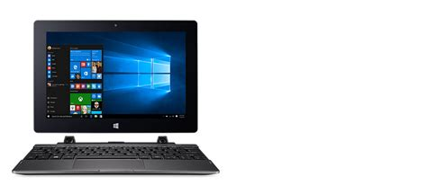 Acer Switch One 2 In 1 Laptop Sw1 011 Atom X5 Z8350 Win 10 murah berkualitas bergaransi acer switch one sw1 011 2 in 1 win 10 touch black els