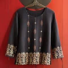 Atasan Kebaya Mata Batu tenun indonesia batik indonesia kebaya