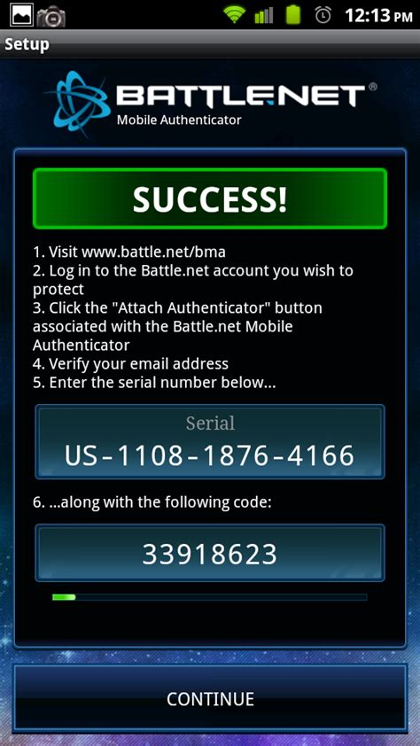 android app review battlenet mobile authenticator