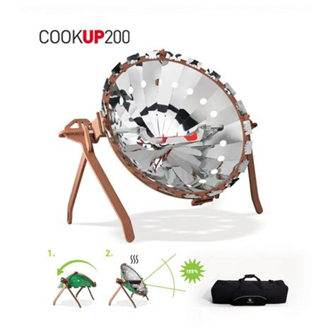 cookup   portable solar cooker