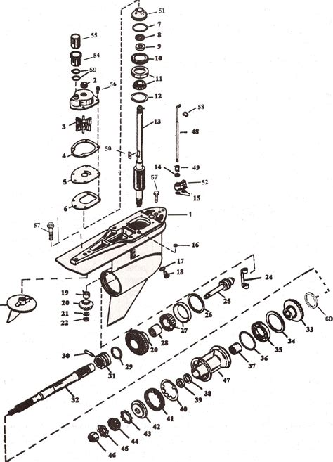 mercruiser alpha one outdrive parts diagram mercruiser alpha 1 generation 2 parts drawing