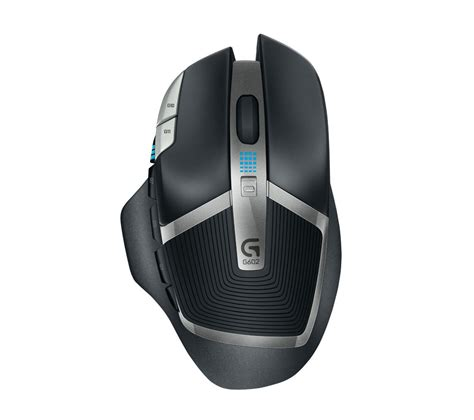 Mouse Wireless Gaming logitech g602 wireless darkfield gaming mouse grey black deals pc world