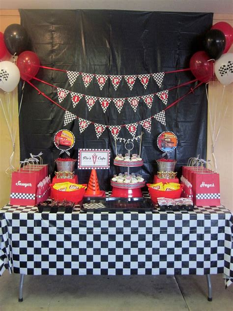 cars themed birthday decorations cars party theme
