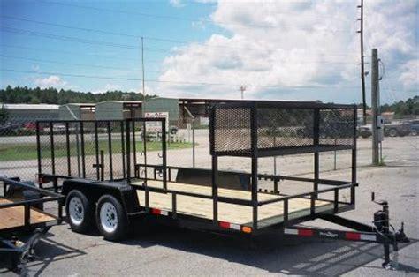 landscape utility trailers