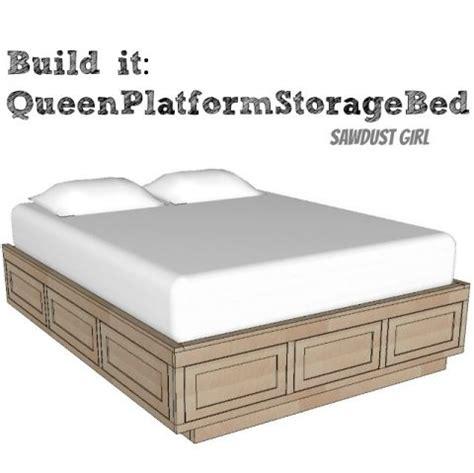 Platform Bed Frame Plans Free 25 Best Ideas About Platform Bed Plans On Bed Frame Plans Bed Ideas And Bed Frame