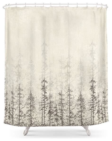 contemporary shower curtains forest home shower curtain contemporary shower