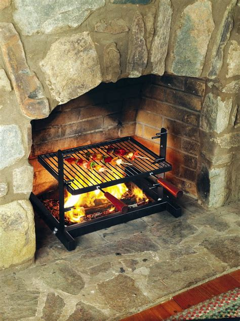 Fireplace Cooking Grill by Chef Robert Grande How To Cook A Steak Big Green