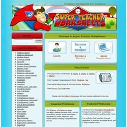 super teacher worksheets addition generator super