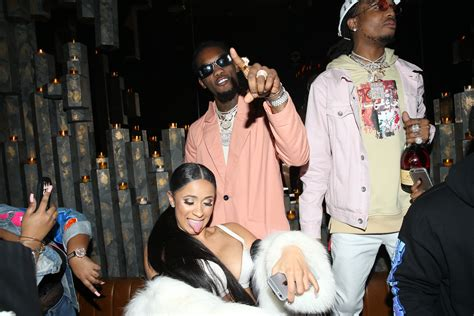 Set Cardi Rkibbon they are engaged moment offset proposed to cardi b