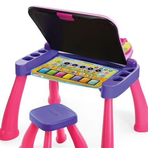 vtech touch and learn activity desk deluxe pink vtech touch and learn activity desk deluxe pink amazon