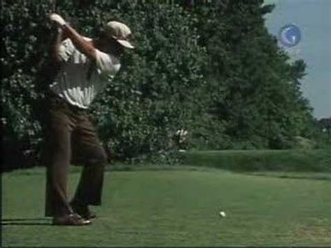 Lee Trevino Driver Steps Golf Swing Youtube