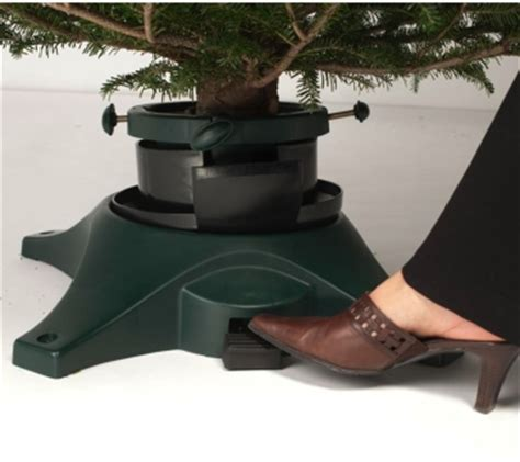 Rotating Tree Stand For Real Trees - home notes tree stand tilts turns home and