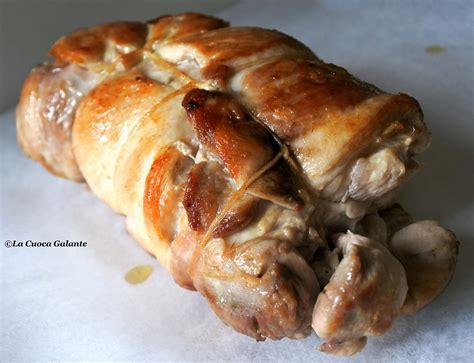cucinare pollo ripieno pollo ripieno o galantina di pollo la cuoca galante