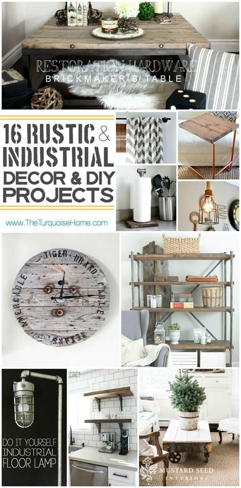 industrial chic home decor best 157 an industrial home decor revolution images on