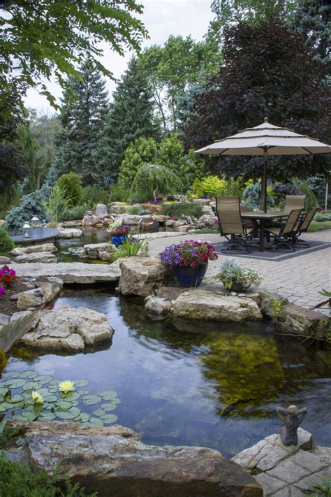Backyard Garden Oasis by The Ultimate Backyard Oasis Aquascape Inc