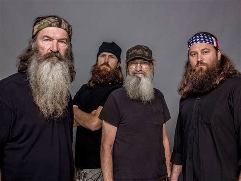 did you see duck dynasty what do duck dynasty look like without beards