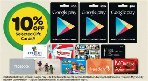 Google Play Gift Cards Discount - psa google play gift cards on sale at woolworths from the 9th of april ausdroid