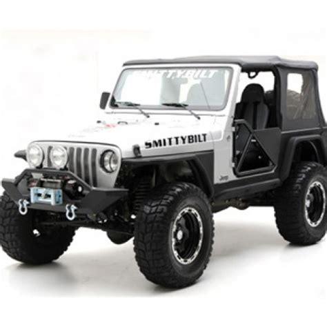 Smittybilt Jeep Fenders Smittybilt Xrc Armor Fenders With 3 Inch Flare Jeep