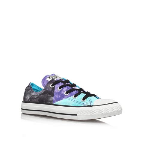 converse ct tie dye low in multicolor for multi coloured lyst