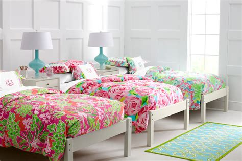 Lilly Pulitzer Bedroom Ideas | lilly pulitzer sister florals bedroom traditional