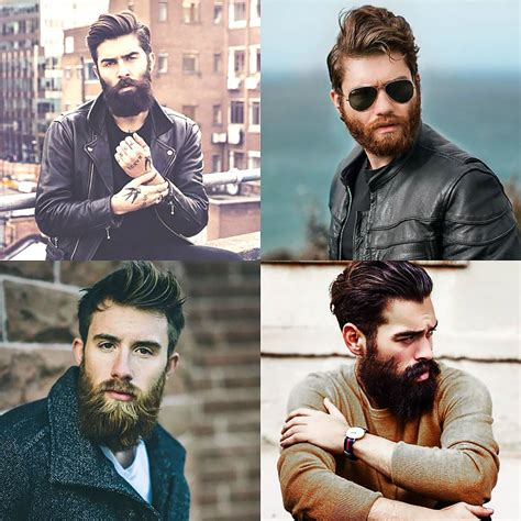 biker haircuts for men a complete guide to rocking different men s beard styles