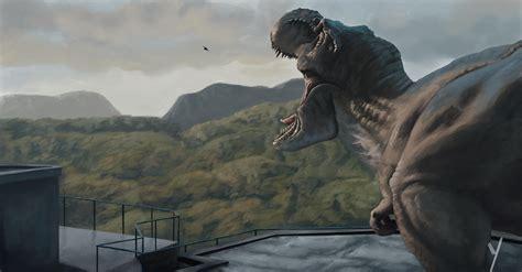 quot the tyrannosaurus rex kingdom quot digital painting